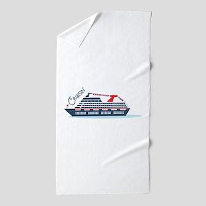 Cruisin Beach Towel