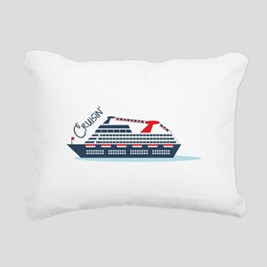 Cruisin Rectangular Canvas Pillow