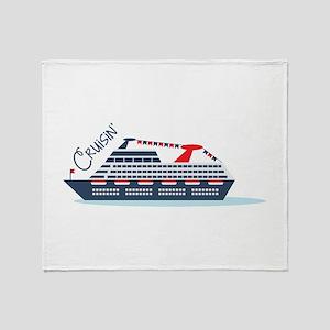 Cruisin Throw Blanket