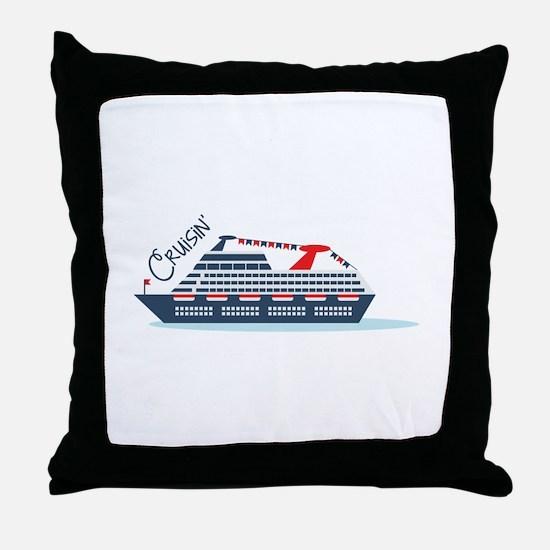 Cruisin Throw Pillow