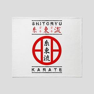 Shitoryu Karate Throw Blanket