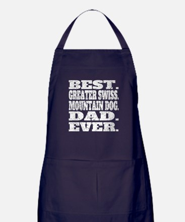 Best Greater Swiss Mountain Dog Dad Ever Apron (da