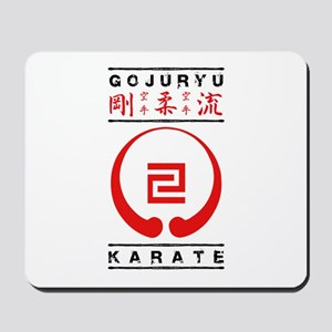Gojuryu Symbol and text Mousepad
