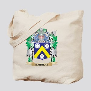 Barclay Coat of Arms - Family Crest Tote Bag