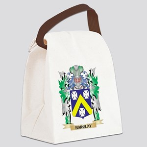 Barclay Coat of Arms - Family Cre Canvas Lunch Bag