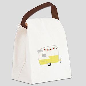 Vintage Camper Canvas Lunch Bag