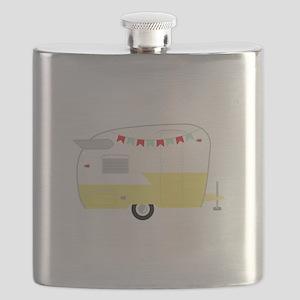 Vintage Camper Flask