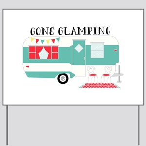 Gone Glamping Yard Sign