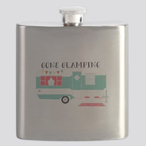 Gone Glamping Flask