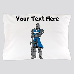 Medieval Knight Pillow Case