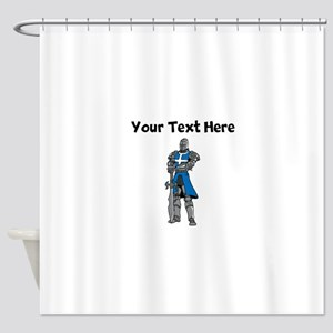 Medieval Knight Shower Curtain