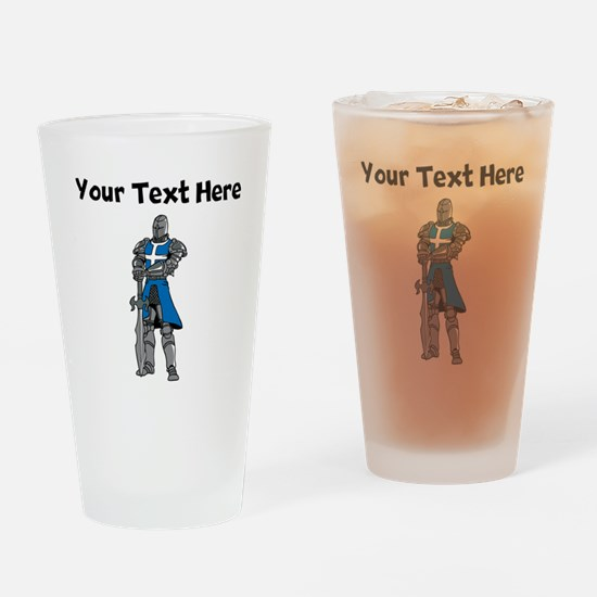 Medieval Knight Drinking Glass
