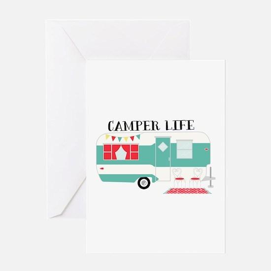 Camper Life Greeting Cards