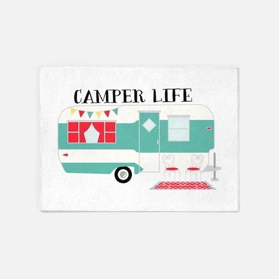 Camper Life 5'x7'Area Rug