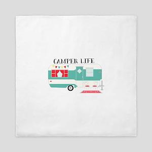 Camper Life Queen Duvet