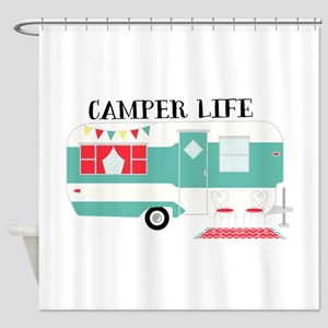Camper Life Shower Curtain