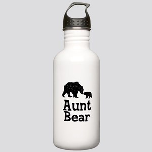 Aunt Bear Stainless Water Bottle 1.0L