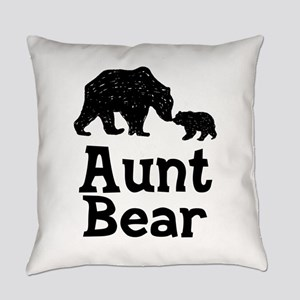 Aunt Bear Everyday Pillow