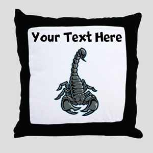 Scorpion Throw Pillow