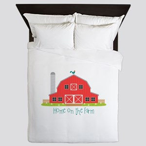Home On The Farm Queen Duvet