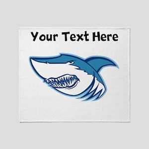 Shark Head Throw Blanket