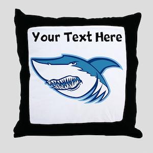 Shark Head Throw Pillow