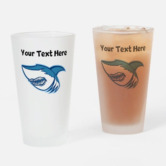 Shark Head Drinking Glass