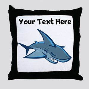 Bull Shark Throw Pillow