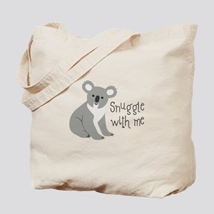 Snuggle With Me Tote Bag