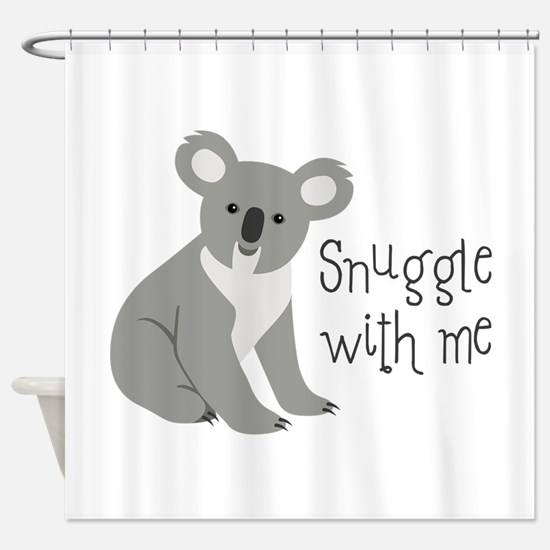Snuggle With Me Shower Curtain