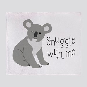 Snuggle With Me Throw Blanket