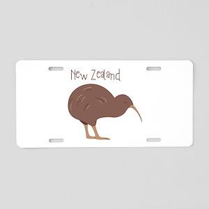 New Zealand Bird Aluminum License Plate
