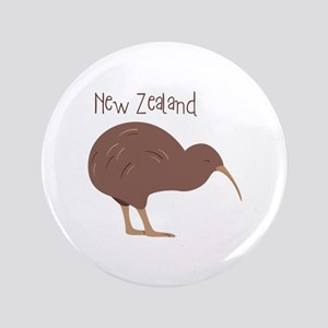 New Zealand Bird Button