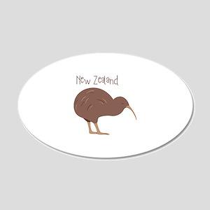 New Zealand Bird Wall Decal