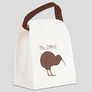 New Zealand Bird Canvas Lunch Bag