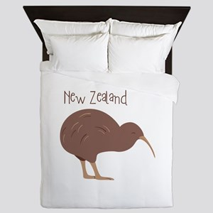 New Zealand Bird Queen Duvet