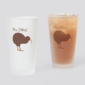 New Zealand Bird Drinking Glass