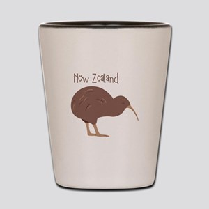 New Zealand Bird Shot Glass