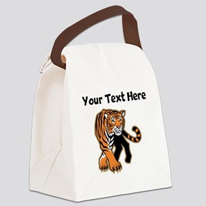 Bengal Tiger Canvas Lunch Bag