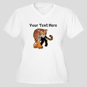 Bengal Tiger Plus Size T-Shirt