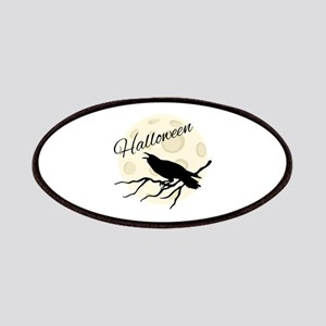 Halloween Crow Patch