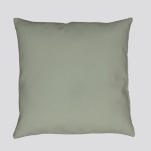 Desert Sage Solid Color Everyday Pillow