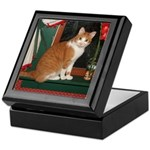 Flower Cat Keepsake Box