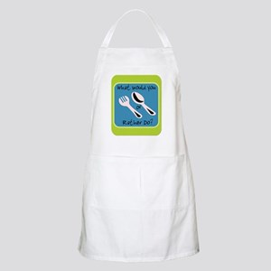 Fork or Spoon BBQ Apron