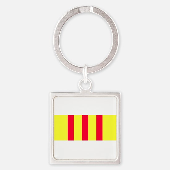 Cute Tet offensive Square Keychain