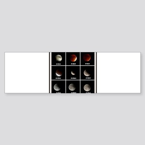 Supermoon & Eclipse Bumper Sticker