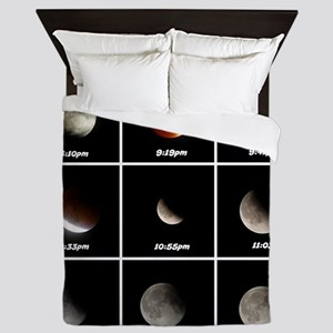 Supermoon & Eclipse Queen Duvet