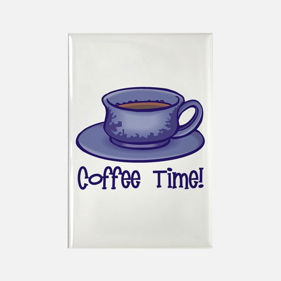 Coffee Time! Rectangle Magnet