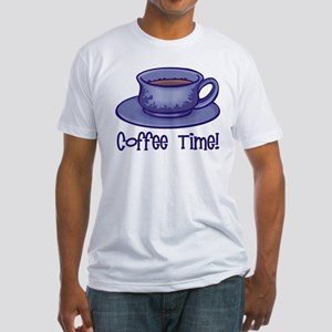 Coffee Time! Fitted T-Shirt
