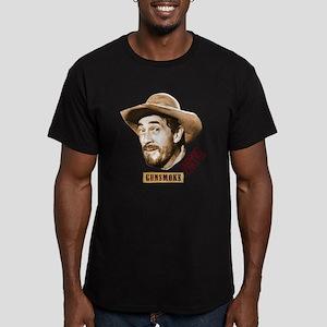 Gunsmoke: Festus Men's Fitted T-Shirt (dark)